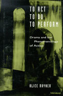 Cover image for 'To Act, To Do, To Perform'