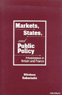Book cover for 'Markets, States, and Public Policy'