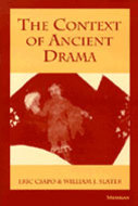 Book cover for 'The Context of Ancient Drama'