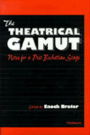 Cover image for 'The Theatrical Gamut'