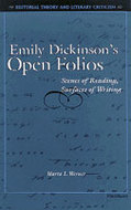 Book cover for 'Emily Dickinson's Open Folios'