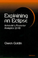Cover image for 'Explaining an Eclipse'