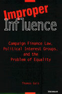 Book cover for 'Improper Influence'