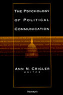 Cover image for 'The Psychology of Political Communication'