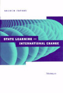 Cover image for 'State Learning and International Change'