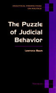 Cover image for 'The Puzzle of Judicial Behavior'