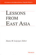 Book cover for 'Lessons from East Asia'
