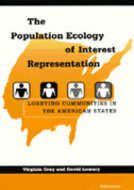 Book cover for 'The Population Ecology of Interest Representation'