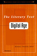 Cover image for 'The Literary Text in the Digital Age'