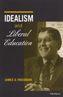 Book cover for 'Idealism and Liberal Education'