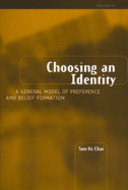 Book cover for 'Choosing an Identity'