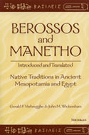 Cover image for 'Berossos and Manetho, Introduced and Translated'