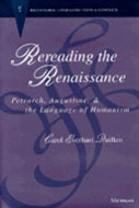 Book cover for 'Rereading the Renaissance'