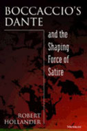 Book cover for 'Boccaccio's Dante and the Shaping Force of Satire'