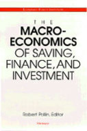 Cover image for 'The Macroeconomics of Saving, Finance, and Investment'