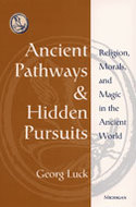 Book cover for 'Ancient Pathways and Hidden Pursuits'