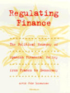 Book cover for 'Regulating Finance'