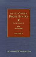 Cover image for 'Attic Greek Prose Syntax'