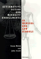 Cover image for 'Affirmative Action and Minority Enrollments in Medical and Law Schools'