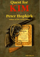Book cover for 'Quest for Kim'