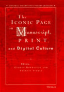 Cover image for 'The Iconic Page in Manuscript, Print, and Digital Culture'