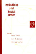 Cover image for 'Institutions and Social Order'