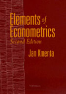 Book cover for 'Elements of Econometrics'