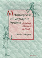 Cover image for 'Metamorphosis of Language in Apuleius'
