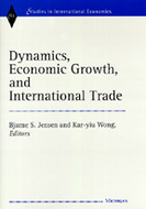 Book cover for 'Dynamics, Economic Growth, and International Trade'