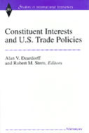 Book cover for 'Constituent Interests and U.S. Trade Policies'