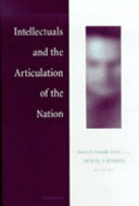Book cover for 'Intellectuals and the Articulation of the Nation'