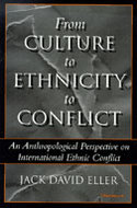 Book cover for 'From Culture to Ethnicity to Conflict'