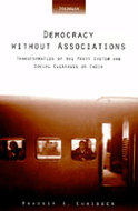 Book cover for 'Democracy without Associations'