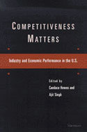 Book cover for 'Competitiveness Matters'