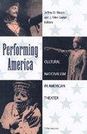 Book cover for 'Performing America'