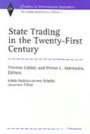 Cover image for 'State Trading in the Twenty-First Century'