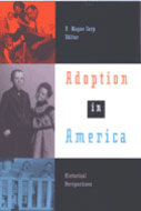 Book cover for 'Adoption in America'