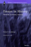 Cover image for 'Essays in History'