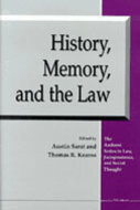 Cover image for 'History, Memory, and the Law'