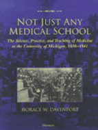 Book cover for 'Not Just Any Medical School'
