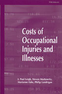 Book cover for 'Costs of Occupational Injuries and Illnesses'