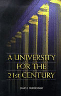 Book cover for 'A University for the 21st Century'