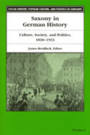 Cover image for 'Saxony in German History'