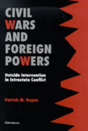 Book cover for 'Civil Wars and Foreign Powers'