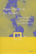 Book cover for 'Public Health in the Market'