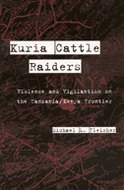 Book cover for 'Kuria Cattle Raiders'