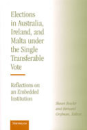 Book cover for 'Elections in Australia, Ireland, and Malta under the Single Transferable Vote'
