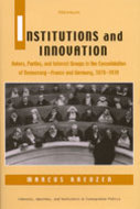 Book cover for 'Institutions and Innovation'