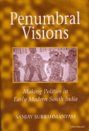 Book cover for 'Penumbral Visions'