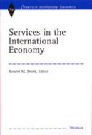 Book cover for 'Services in the International Economy'